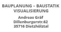 Bauplanung Andreas Gräf